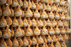 Ham prosciutto di parma. Parma ham product typical Emilian royalty free stock images