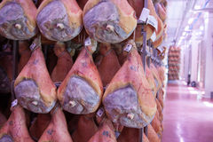 Ham prosciutto di parma Stock Photos
