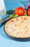 Ham Quiche Royalty Free Stock Photography