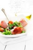 Ham and Rocket Salad Stock Photo