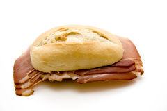 Ham roll Royalty Free Stock Photos