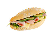 Ham roll Royalty Free Stock Photography