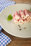 Ham roll Stock Photo