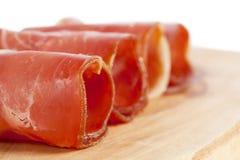 Ham rolled stock image