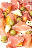 Ham salad Royalty Free Stock Photography