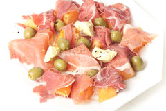 Ham Salad Royalty Free Stock Photography