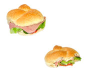 Ham salad Stock Image