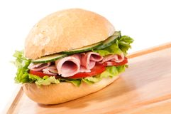 Ham Salad Roll Stock Images