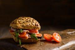 Ham Salad Roll Stock Photo