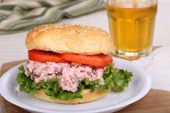 Ham Salad Sandwich Immagine Stock