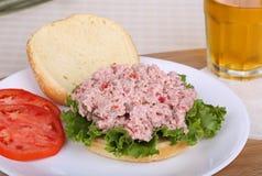 Ham Salad Sandwich Stock Images