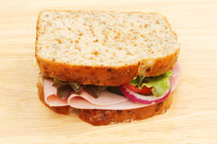 Ham salad sandwich Stock Photos