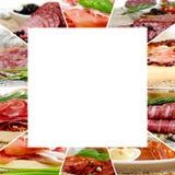 Ham and Salami Mix Stock Images