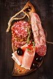 Ham and salami. Stock Image