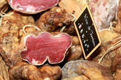 Ham on sale Stock Images