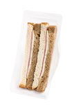 Ham sandwich Royalty Free Stock Images