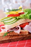 Ham  sandwich Stock Photography