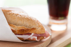 Ham Sandwich Stock Photography