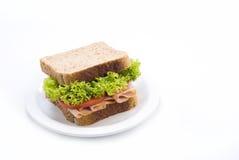 Ham sandwich Royalty Free Stock Photography