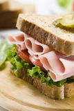 Ham sandwich Stock Images