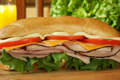 Free Ham Sandwich Royalty Free Stock Images - 4130349