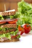 Ham Sandwich Fotografia Stock Libera da Diritti