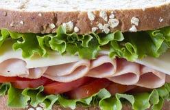 Ham Sandwich Fotografie Stock Libere da Diritti