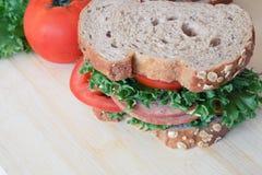 Ham Sandwich Stockfoto