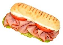 Ham Sandwich fumé Photographie stock