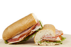 Ham sandwiches Stock Image