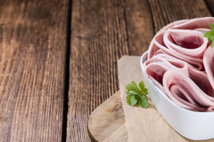 Ham Sausage Royalty Free Stock Photo