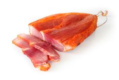 Ham slice Stock Photography