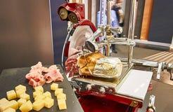 Ham Slicer d'annata rosso Immagine Stock
