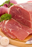 Ham Slices Stock Image