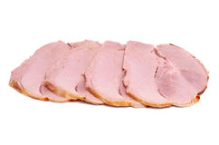 Ham Slices Royalty Free Stock Images