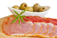Ham of Spain Lomo Royalty Free Stock Photo