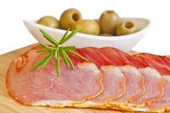 Ham of Spain Lomo Royalty Free Stock Photo