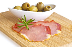 Ham of Spain Lomo Royalty Free Stock Images