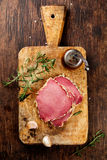 Ham and spices Royalty Free Stock Images
