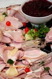 Ham Spread Stock Photo