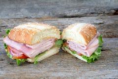 Ham Sub Royalty Free Stock Photo
