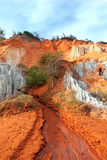 Ham Tien canyon. Mui Ne. Vietnam Royalty Free Stock Photo
