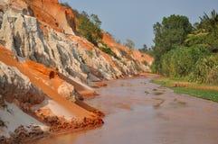 Ham Tien Canyon Near Mui Ne, Vietnam Royalty Free Stock Images