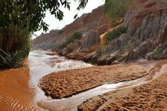 Ham Tien Canyon Near Mui Ne, Vietnam Stock Images