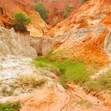 Ham Tien canyon in Vietnam Royalty Free Stock Photo