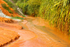 Ham Tien canyon in Vietnam Stock Photos