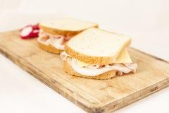Ham toast Stock Image