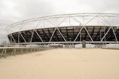 Ham United New Stadium del oeste, Stratford Foto de archivo