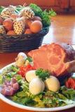 Ham van varkensvlees Royalty-vrije Stock Foto