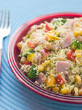 Ham and Vegetable Cous Cous Stock Photography